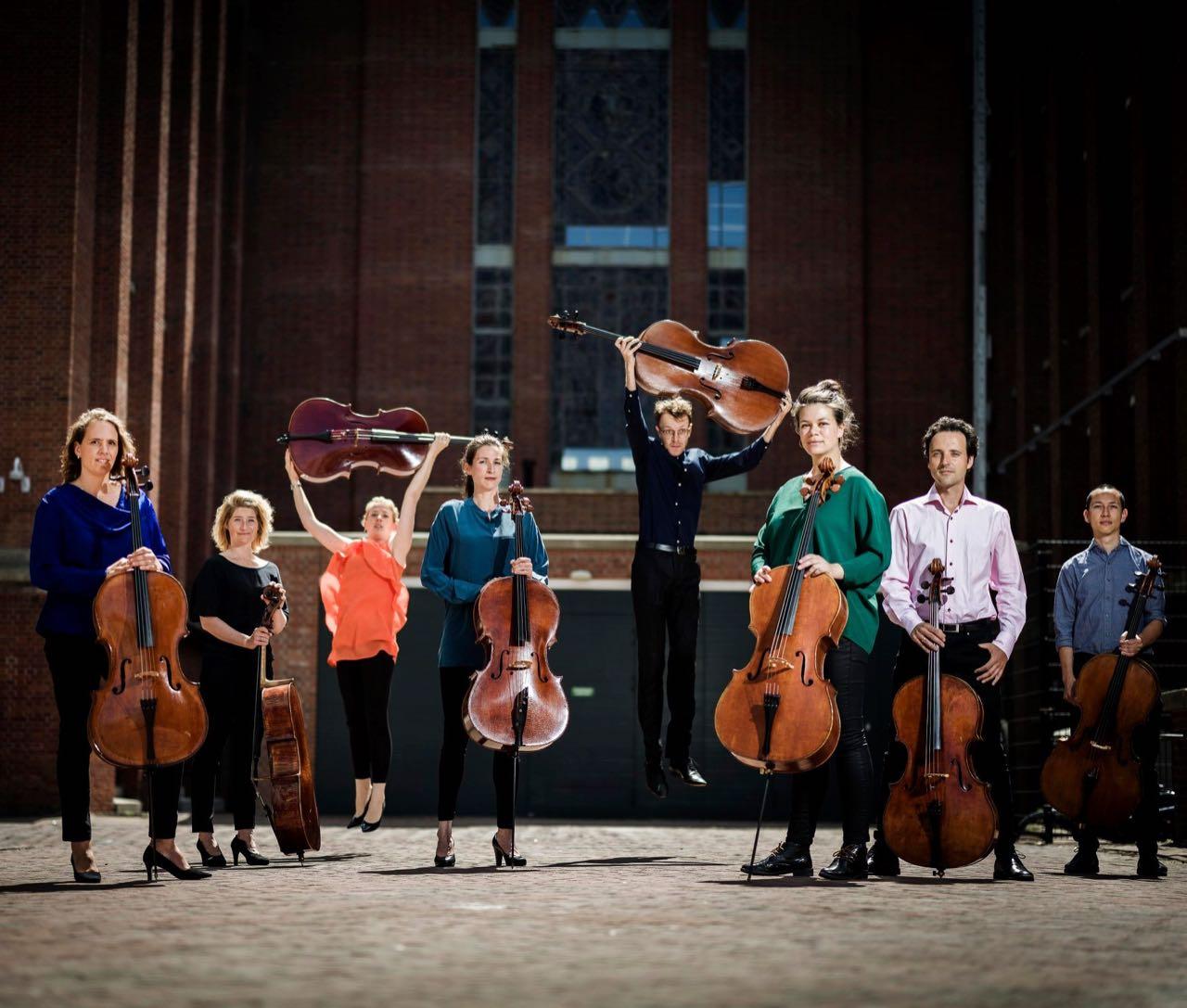 CelloOctet Amsterdam op 20 maart in Tienhoven